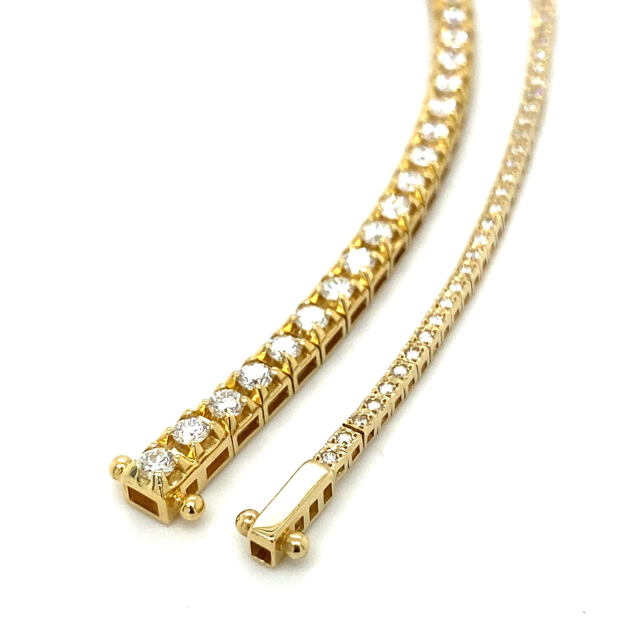 ROEMER ROEMER gouden tennisarmband met 0,54 ct Si/H 14kt goud