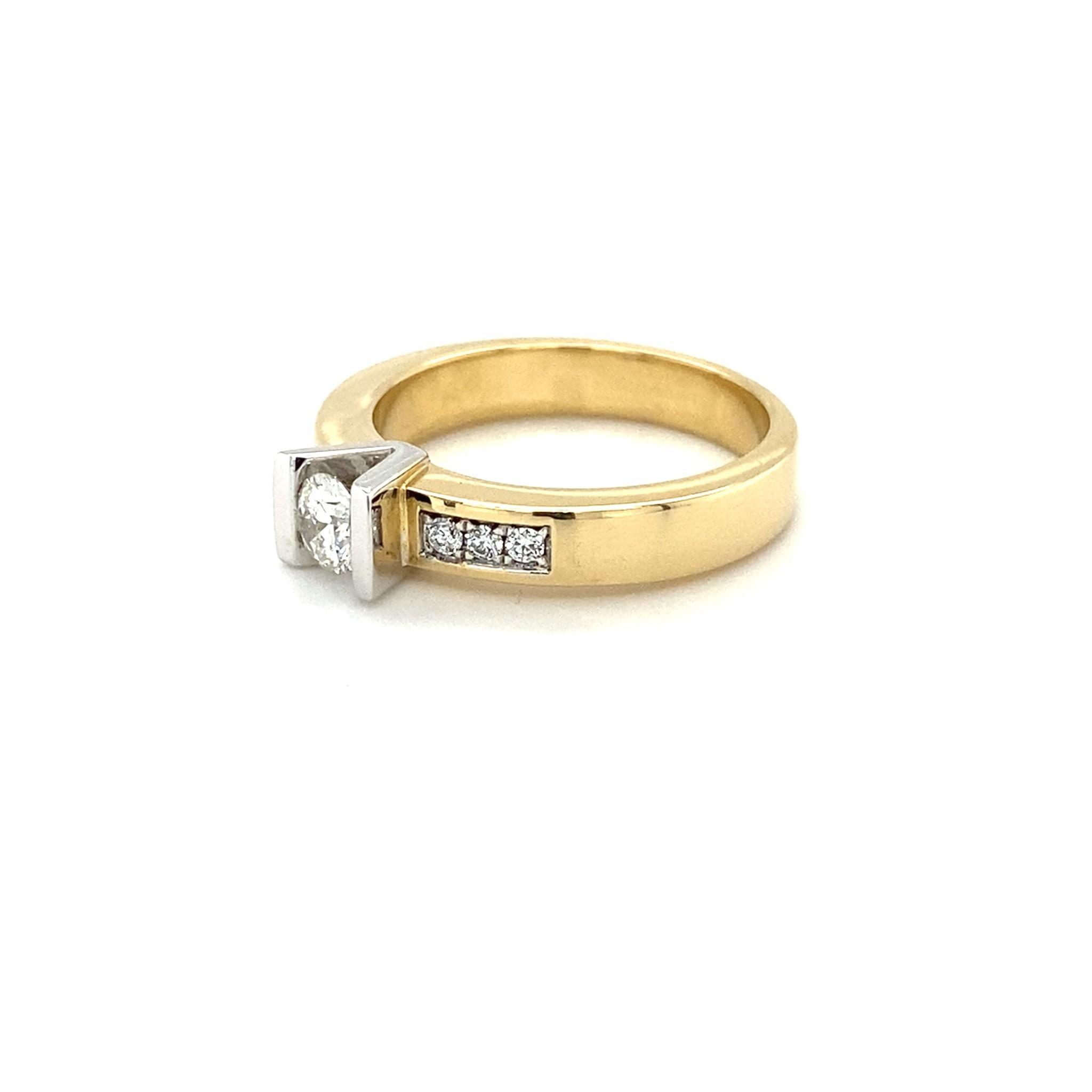 Passione Passione ring GD1250-55 0,40ct H/Si
