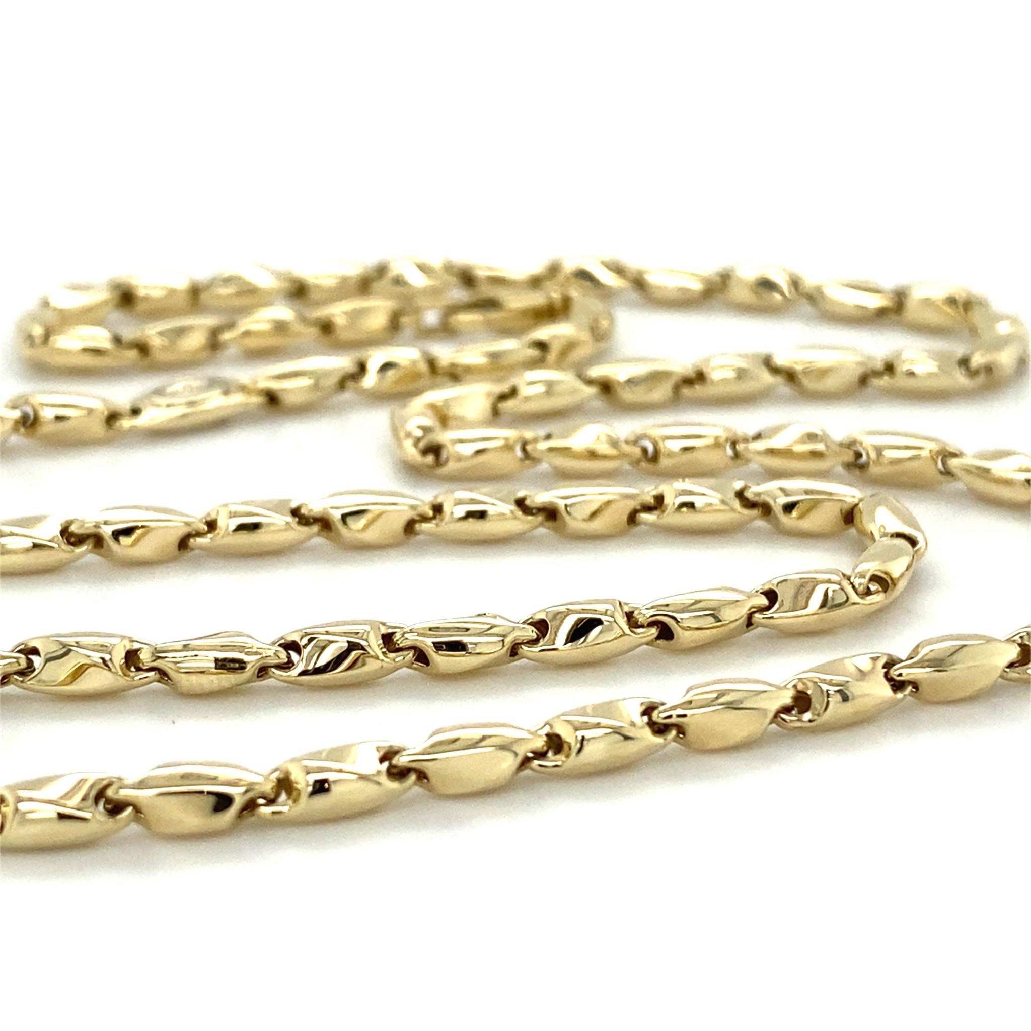 Monzario Oro Monzario Oro geelgouden collier 837C geel
