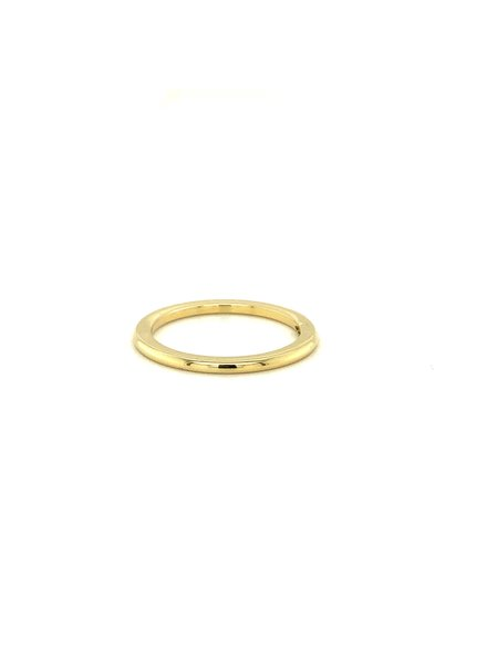 Tomylo 14 karaat geelgouden ring