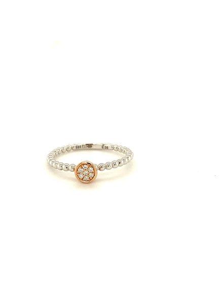 Passione Tomylo ring met diamant H Si 0,05ct GB0661