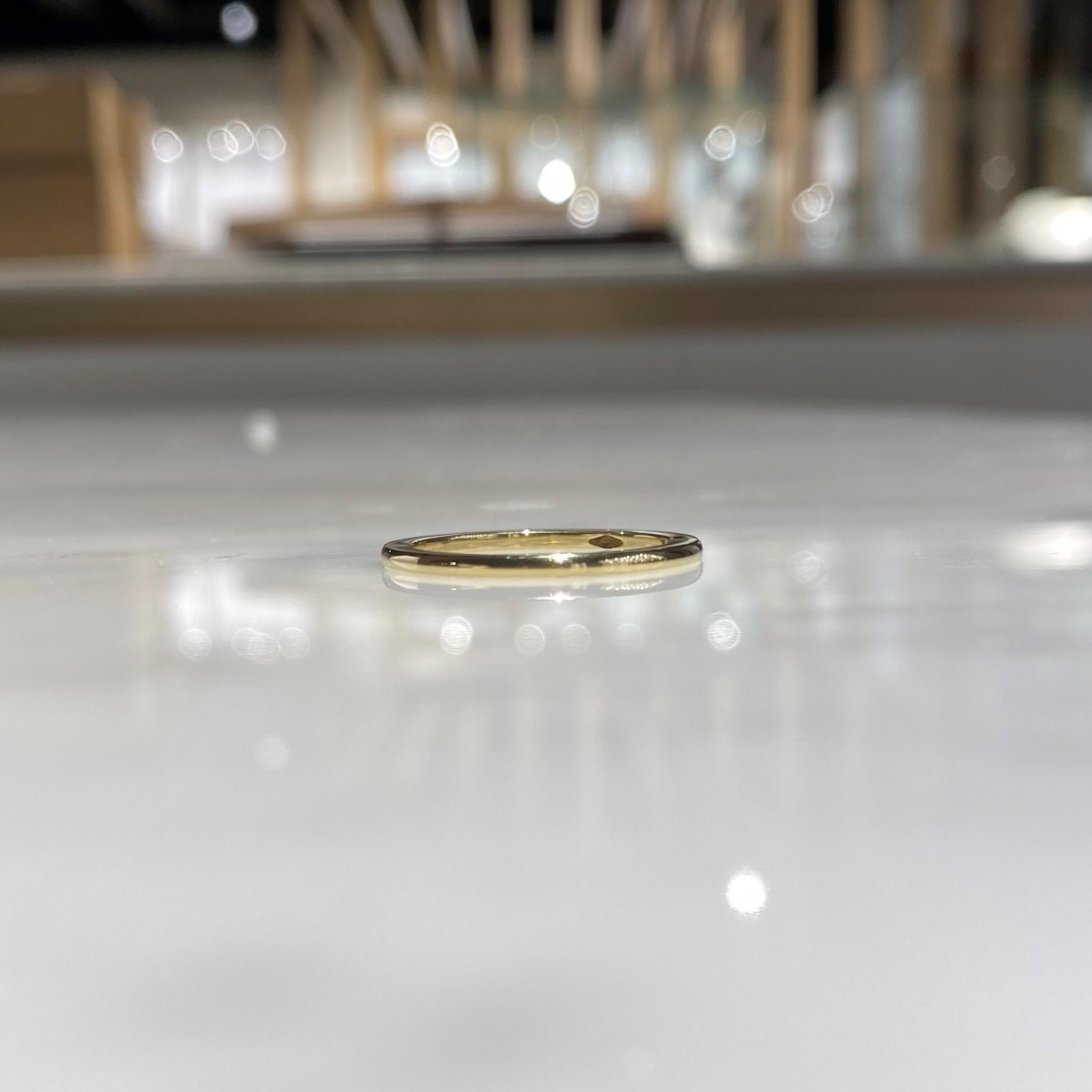 Tomylo 14 karaat geelgouden ring.