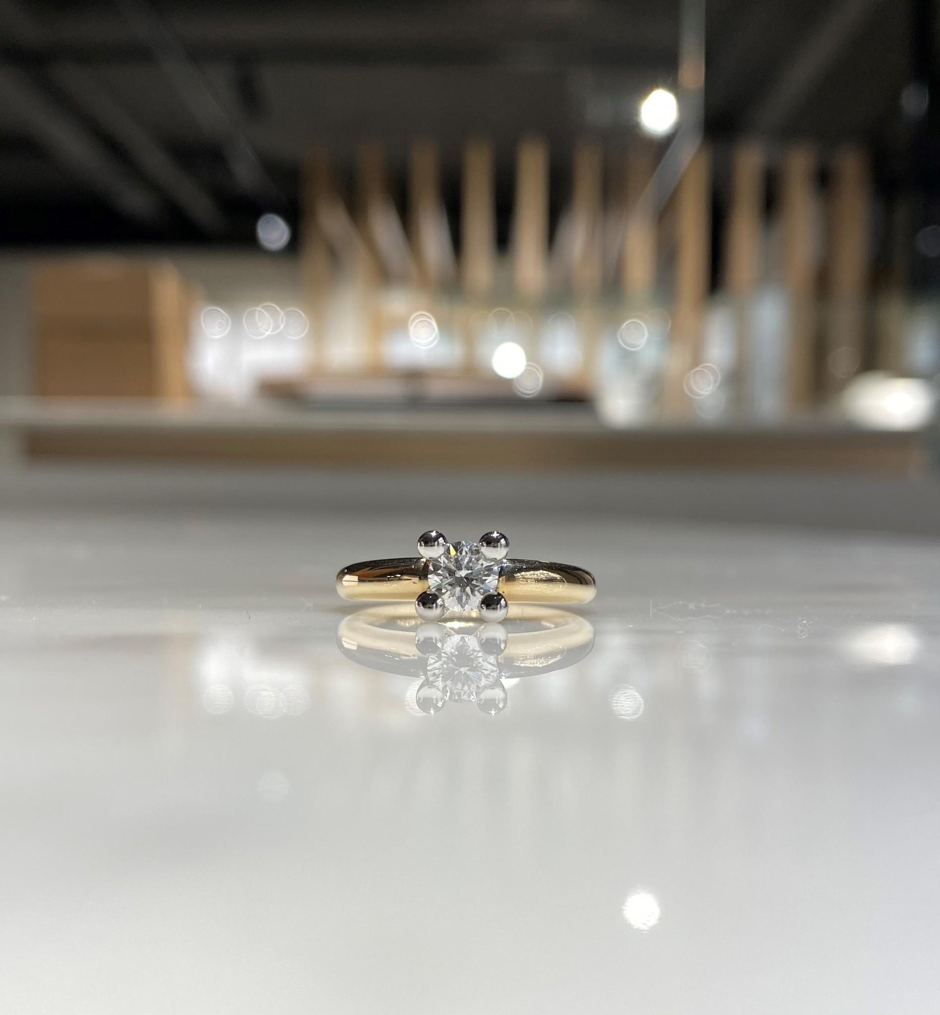 ROEMER by Bregje Roemer by Bregje ring met 0.49 ct briljant EF/Si2