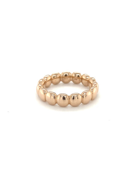 ROEMER by Bregje ROEMER by Bregje rosegouden ring BUBBLES large