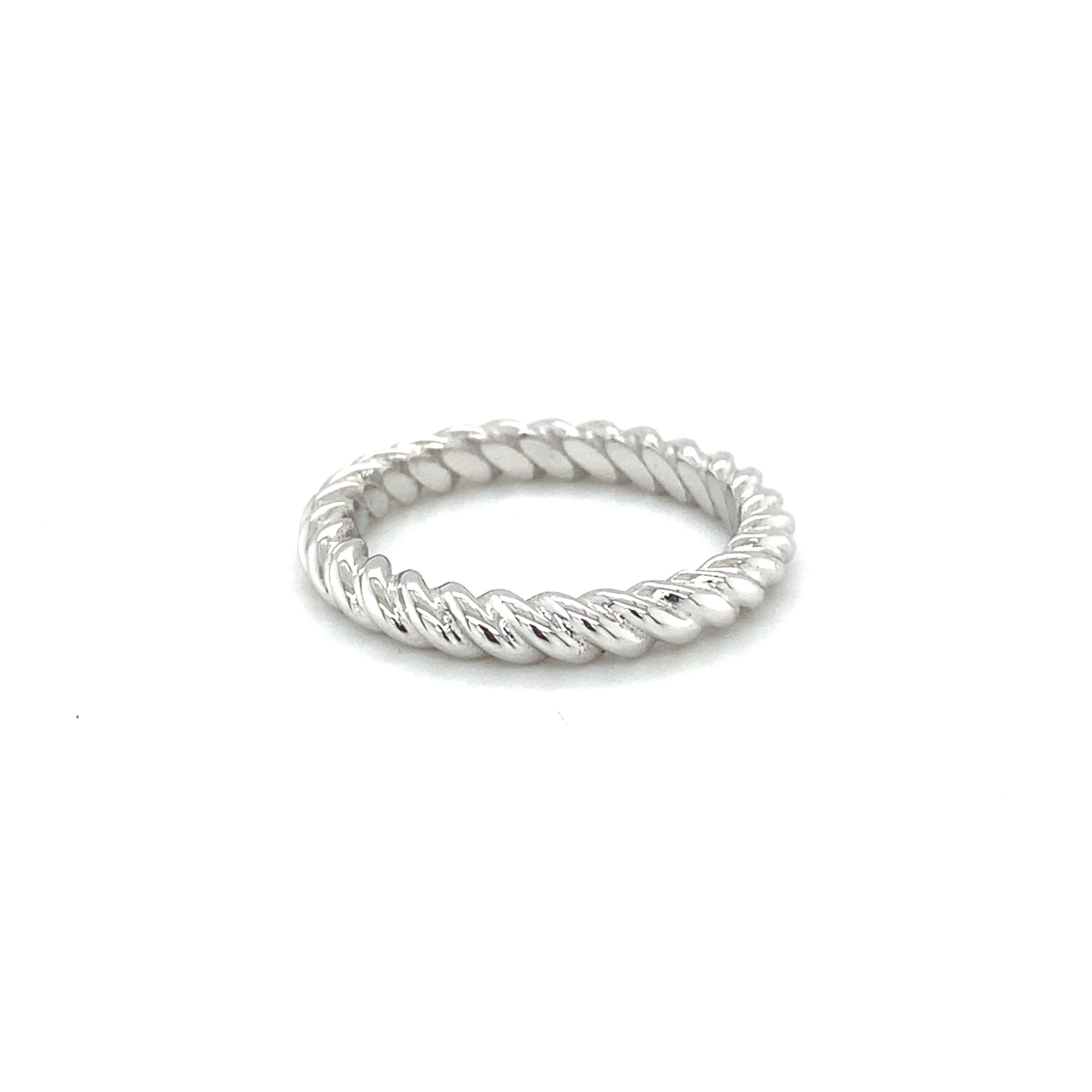 ROEMER by Bregje ROEMER by Bregje 18K witgouden ring TWISTER Small