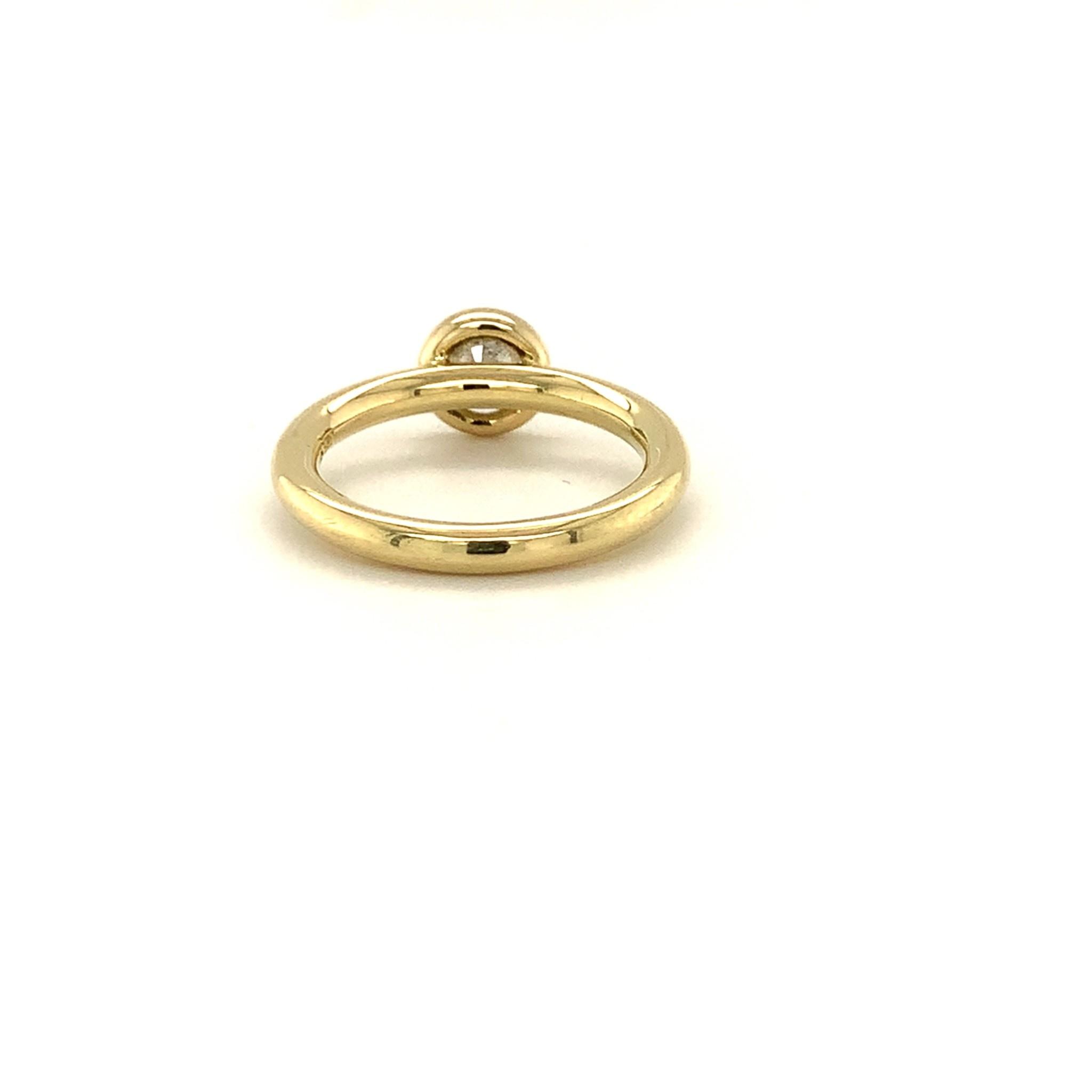 ROEMER by Bregje ROEMER by Bregje geelgouden ring met briljant 1.03ct