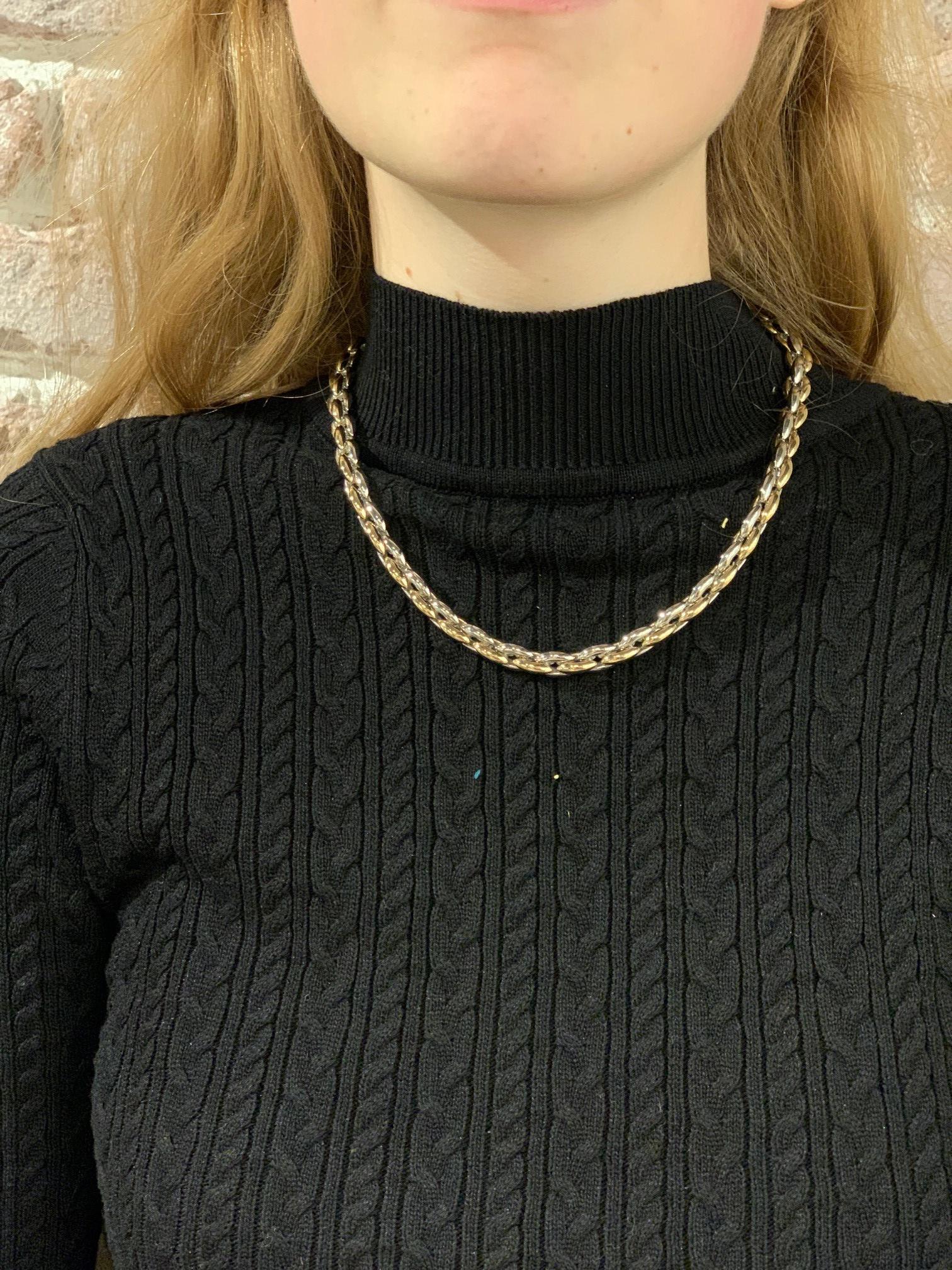 Monzario Oro Monzario gouden collier 823CBIC