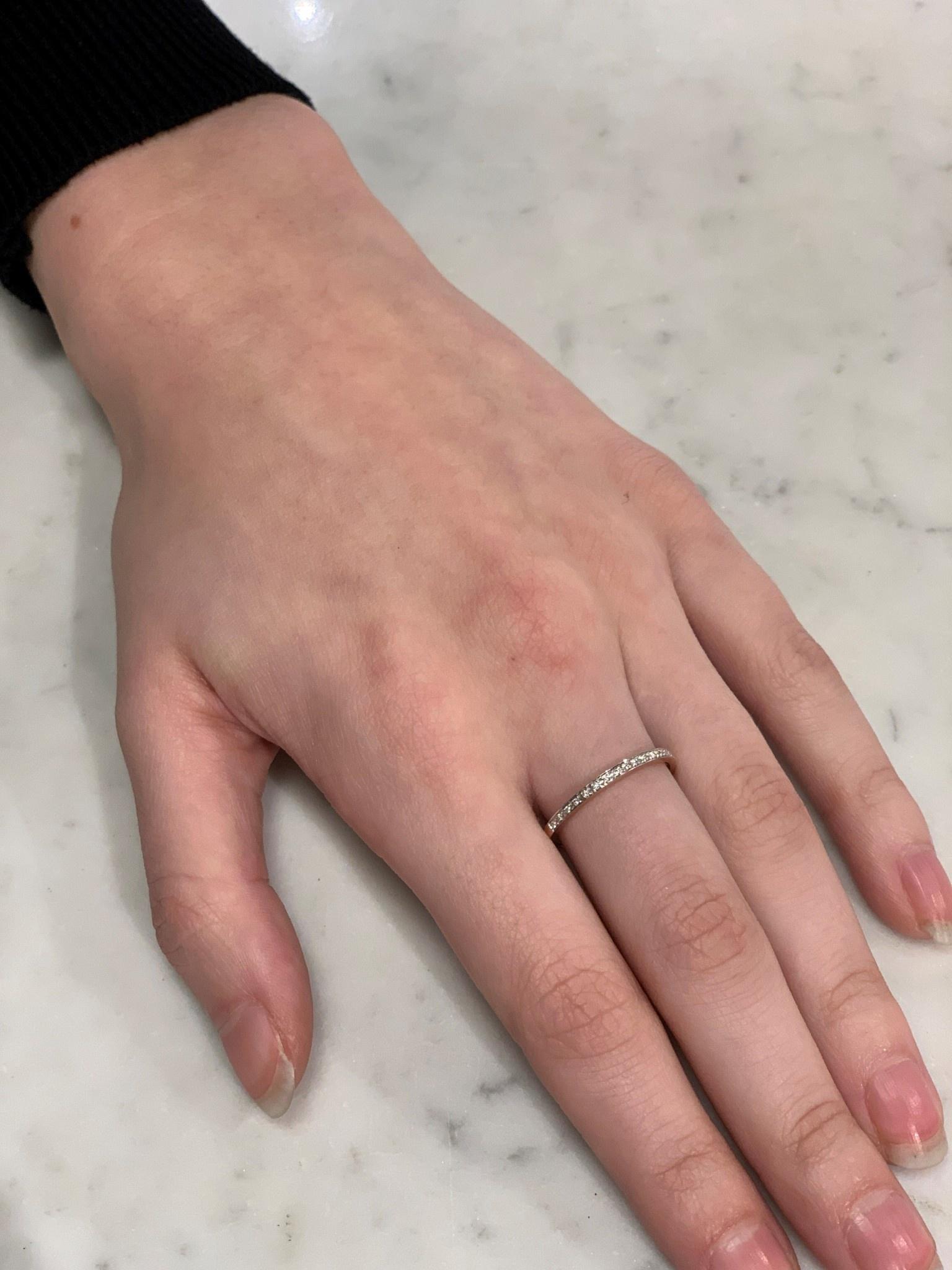 ROEMER ROEMER roségouden ring met briljanten