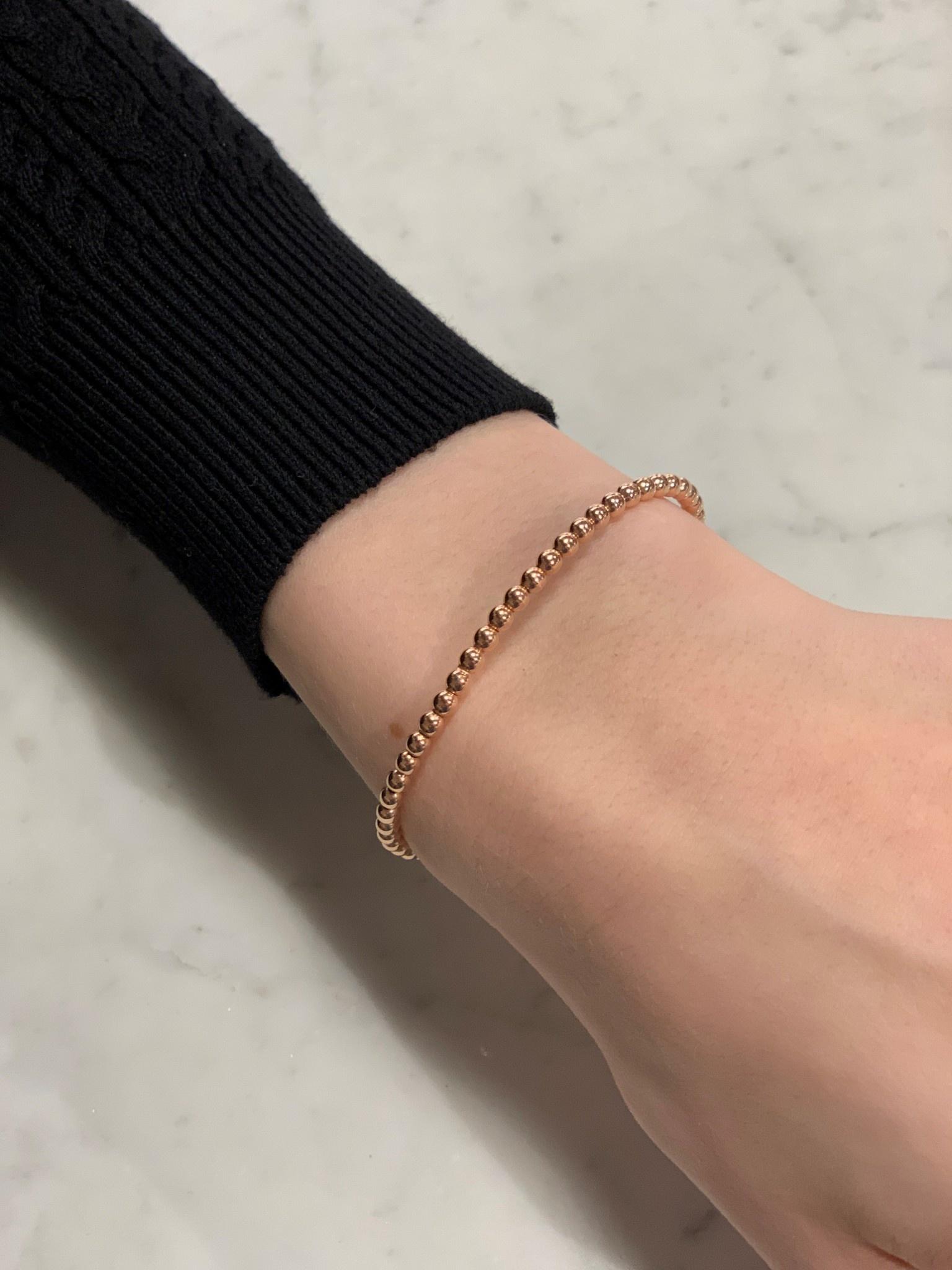 Monzario Oro Monzario armband goud 1222A Rosé