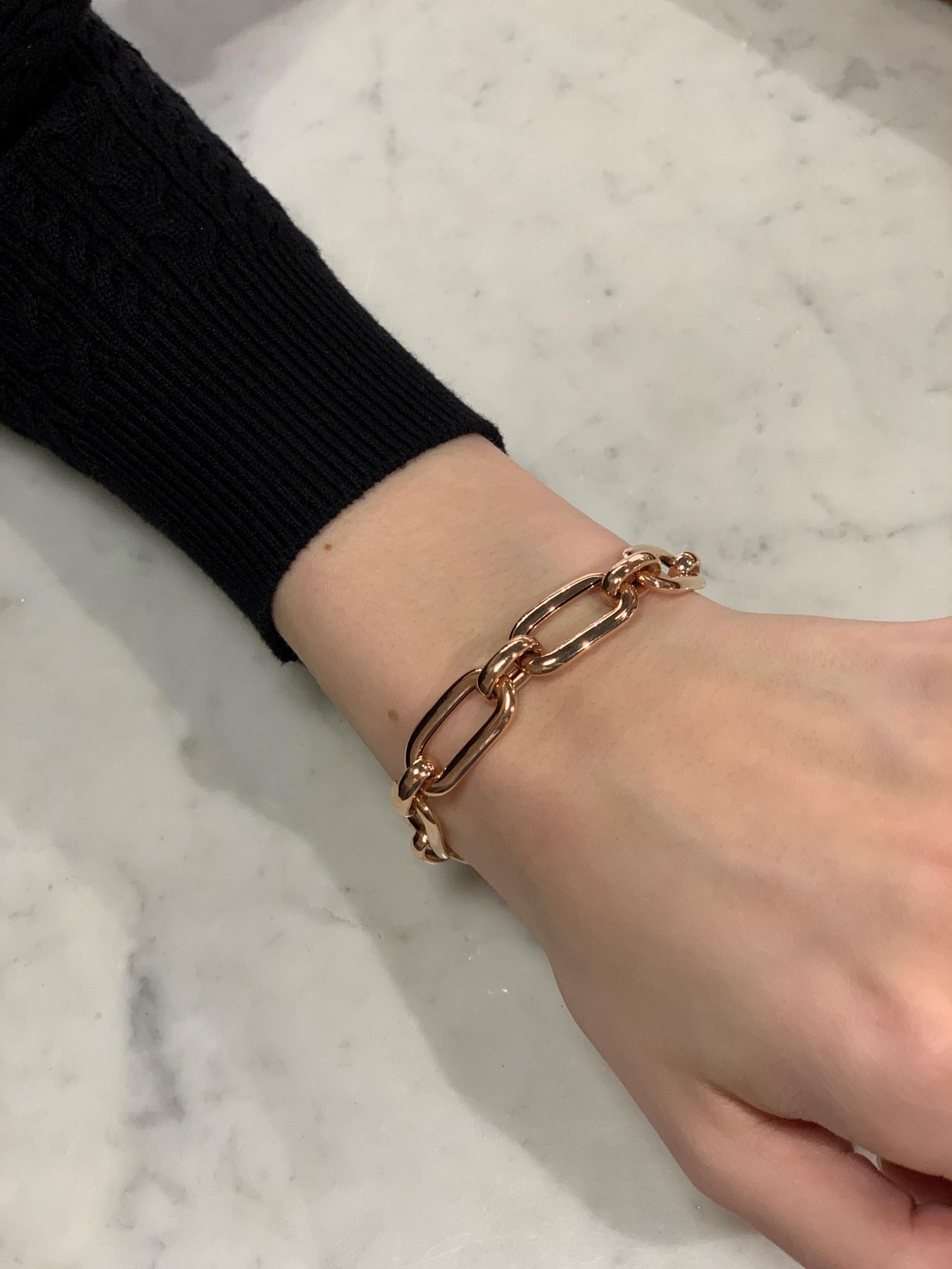 ROEMER Roemer armband roségoud 19cm-12.5mm