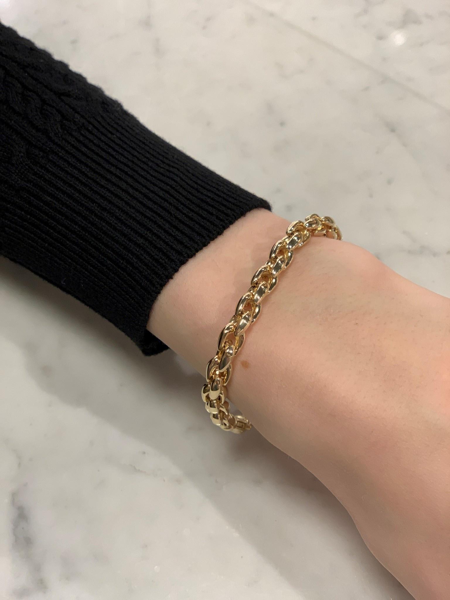 Monzario Oro Monzario geelgouden armband 615A