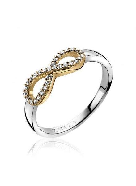 Zinzi Zinzi zilveren Ring Infinity ZIR1065Y54