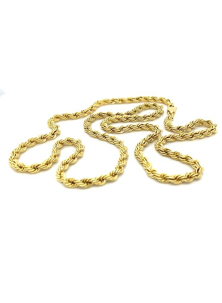 ROEMER ROEMER gouden koord collier