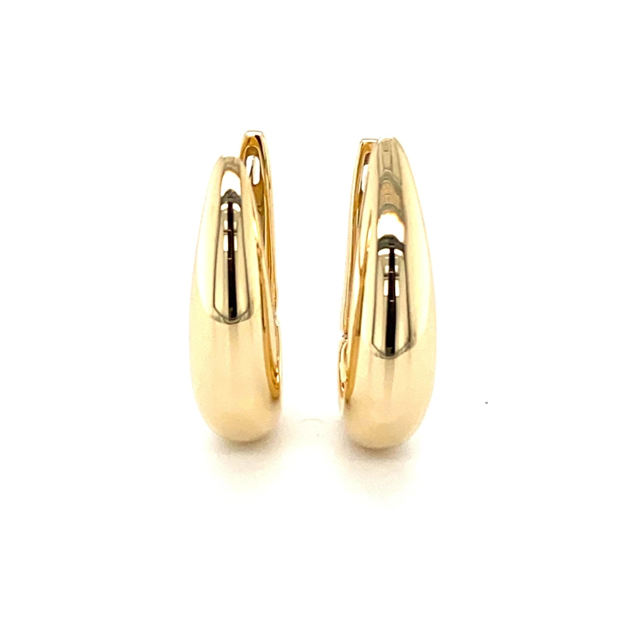 Monzario Oro Monzario gouden oorringen O1078G