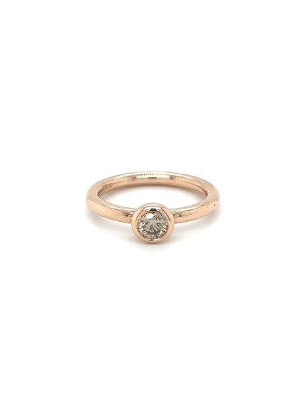 ROEMER ROEMER roségouden ring met diamant VS 0.34ct