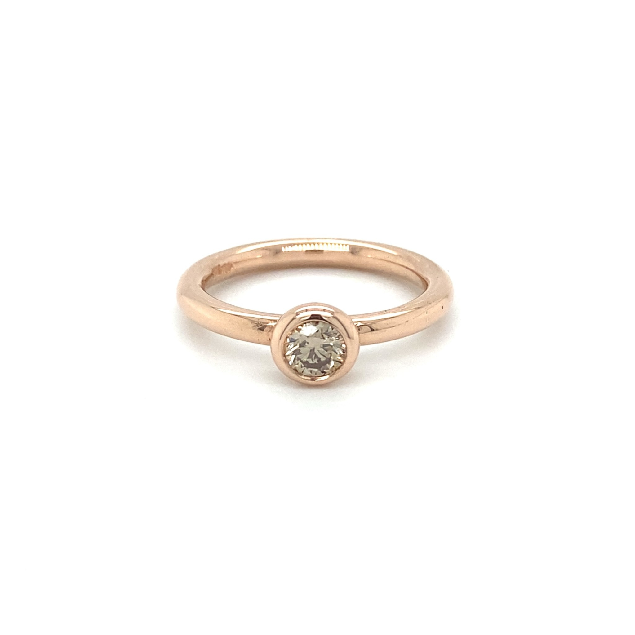 ROEMER ROEMER roségouden ring met diamant VS 0.34ct