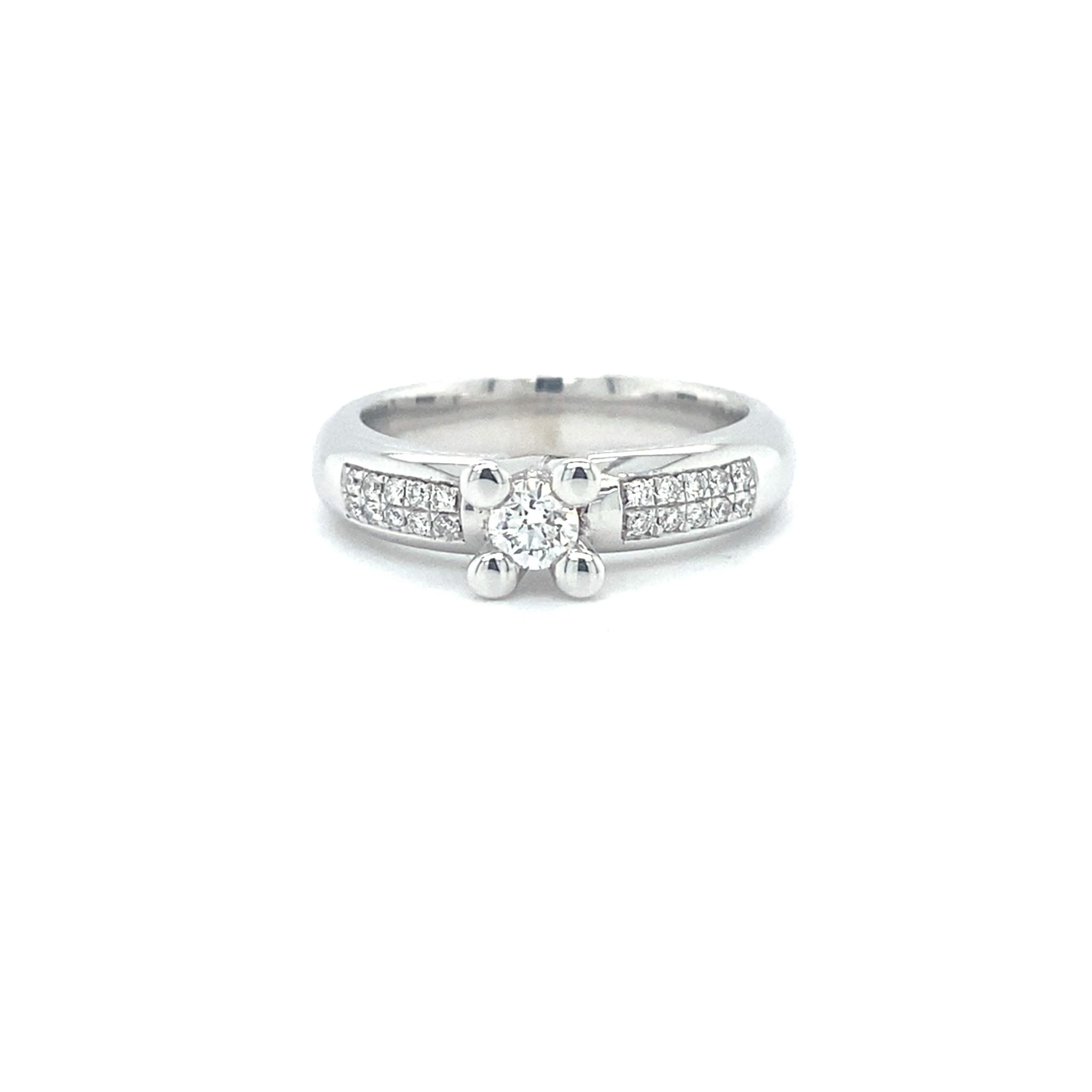 Passione Passione ring ring met 0.30 ct. briljant