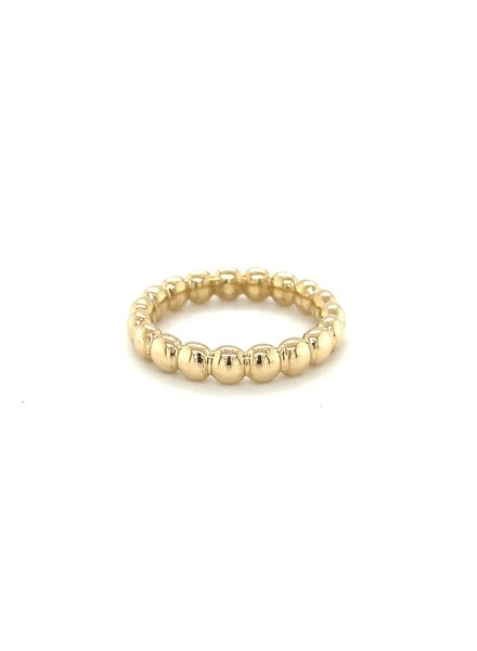 ROEMER by Bregje ROEMER by Bregje geelgouden ring BUBBLES  Medium