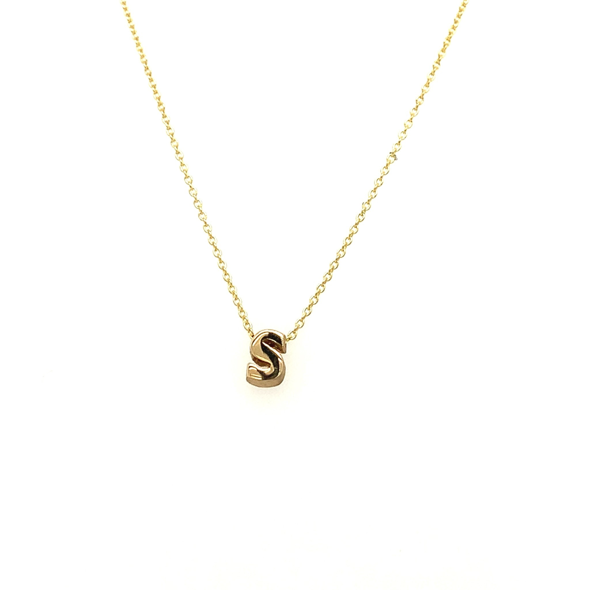 Just Franky Just Franky Capital Necklace S 39-41