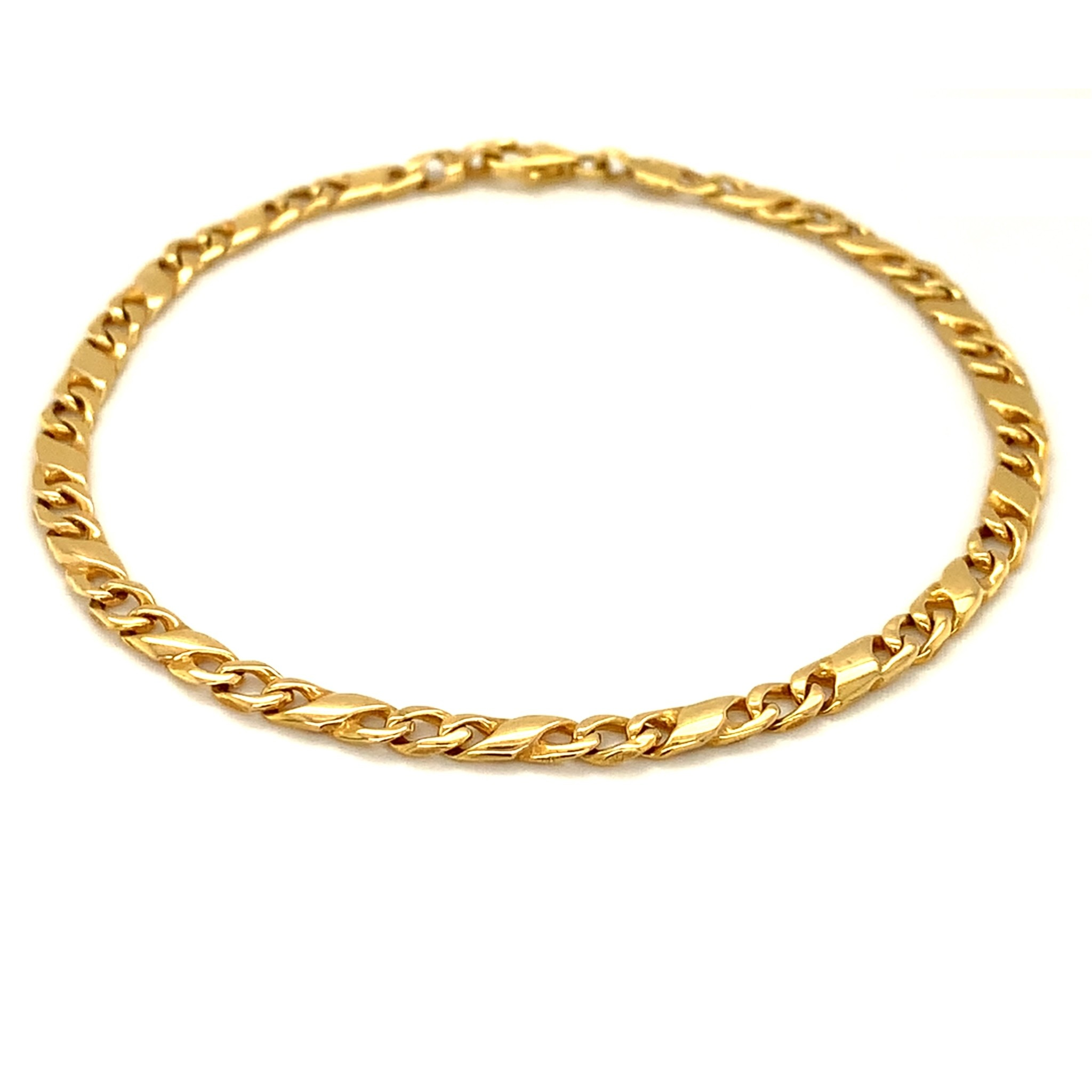 ROEMER ROEMER geelgouden fantasie armband 21/3.5
