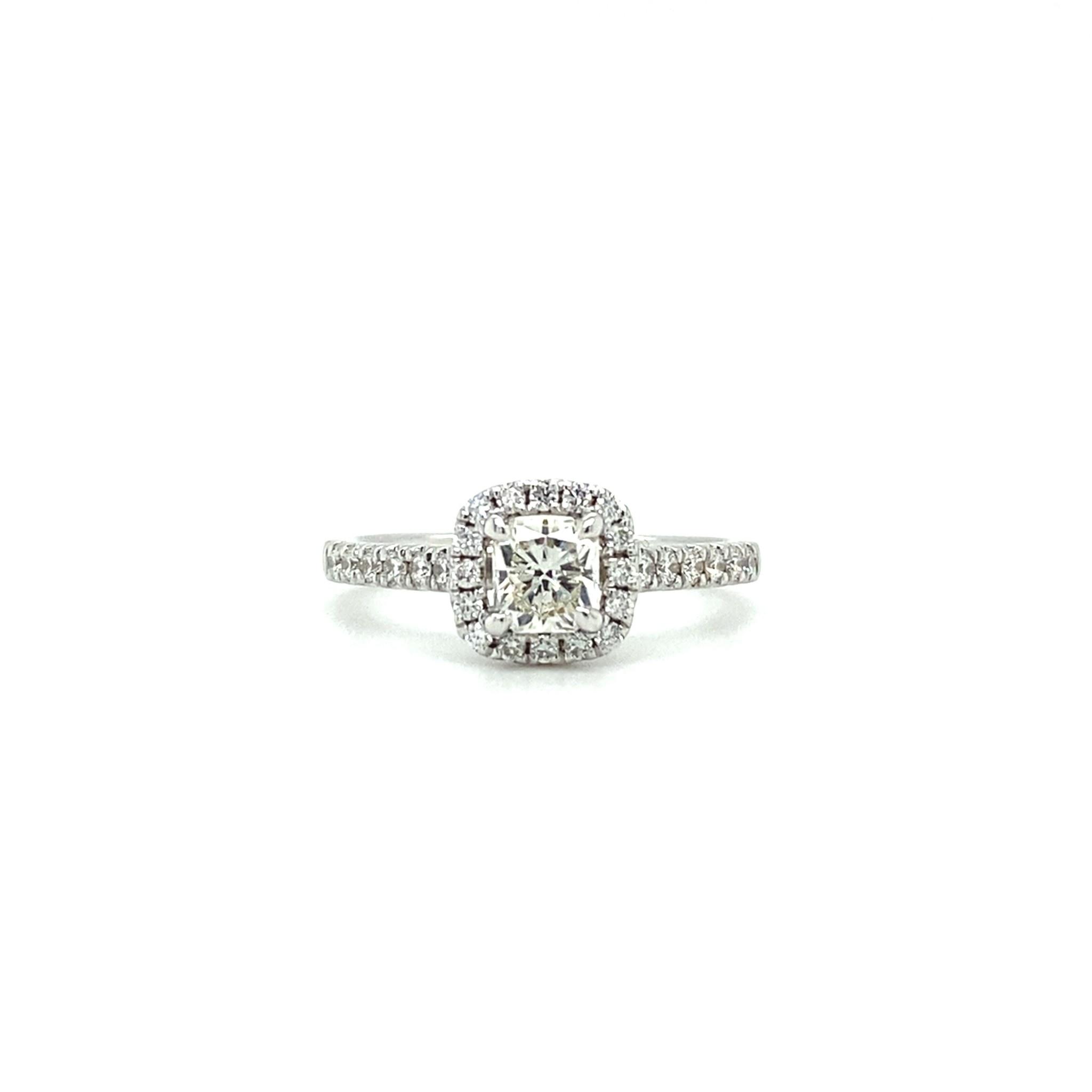 ROEMER Witgouden ring met diamant