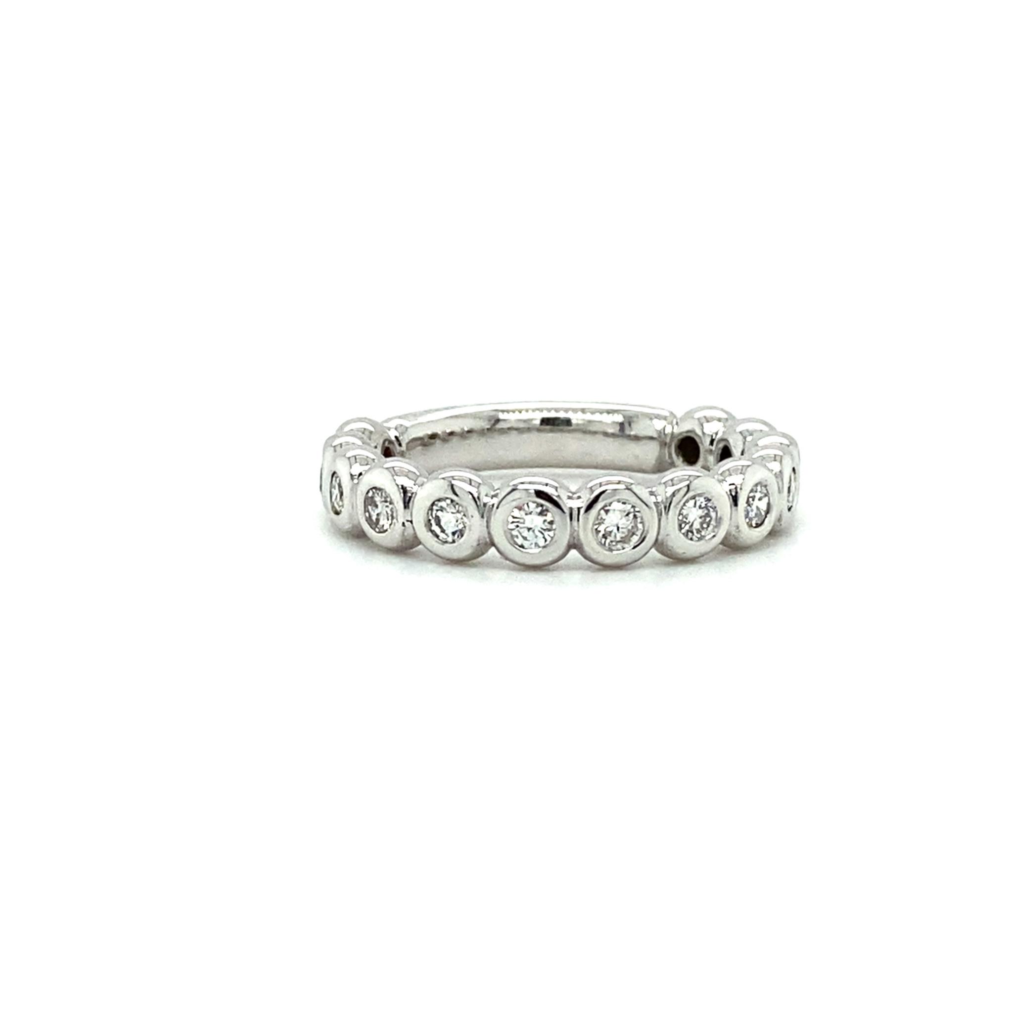 ROEMER by Bregje Witgouden ring met diamant 0.52ct