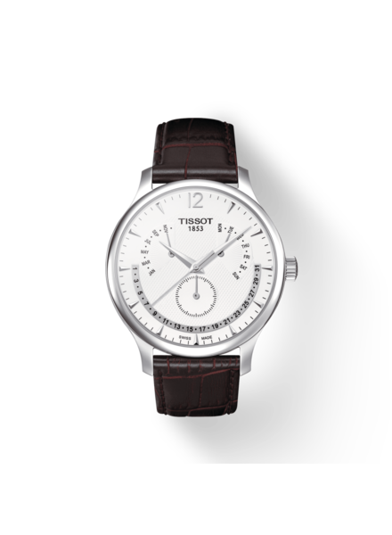 Tissot Tissot horloge Tradition Perpetual Calendar T0636371603700
