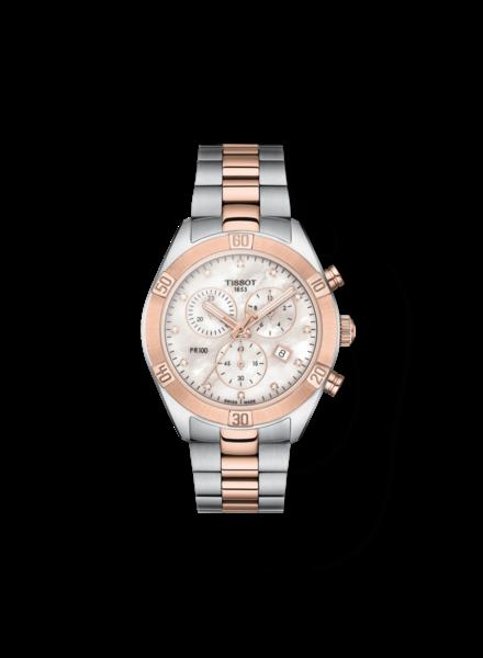 Tissot Tissot horloge PR100 Sport Chic Chronograaf T1019172211600