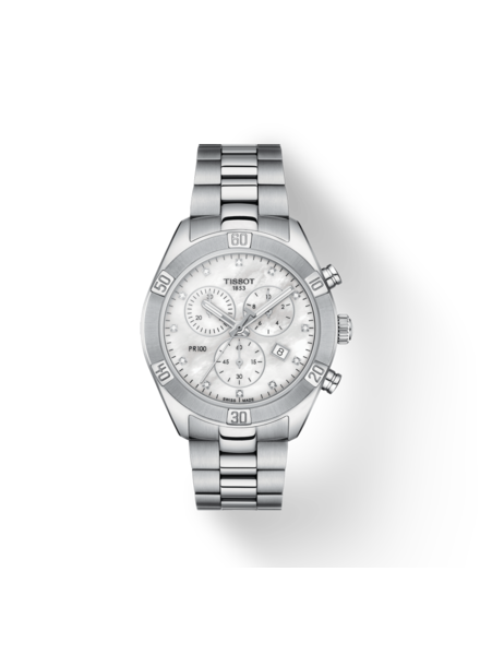 Tissot Tissot horloge PR100 Sport Chic Chronograph T1019171111600