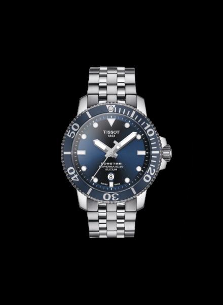 Tissot Tissot horloge Seastar 1000 Powermatic T1204071104101