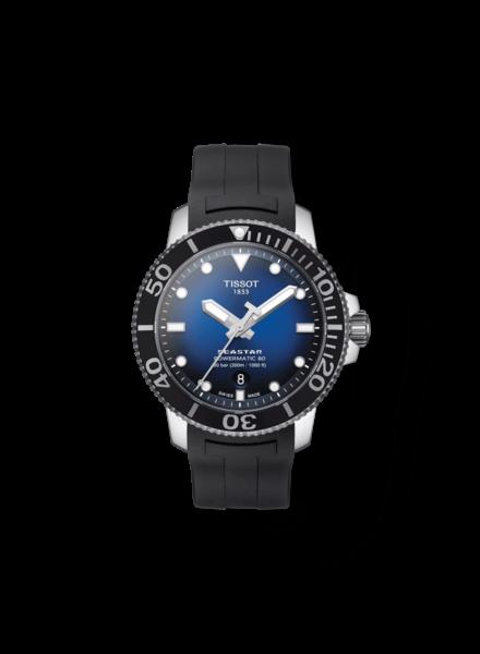 Tissot Tissot horloge Seastar 1000 Powermatic 80T1204071704100