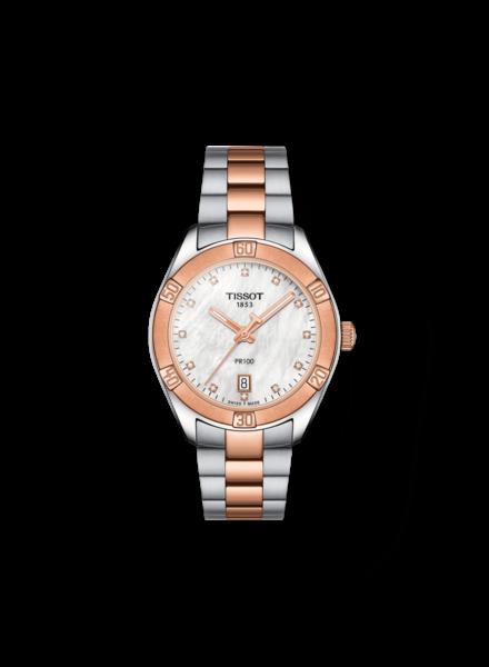 Tissot Tissot horloge PR100 Sport Chic T1019102211600