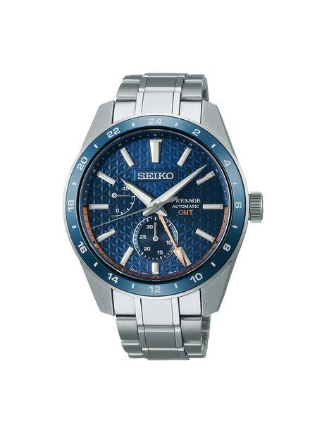 Seiko Seiko Presage horloge automaat GMT SPB217J1