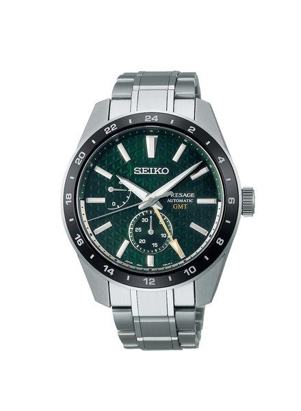 Seiko Seiko Presage horloge automaat GMT SPB219J1