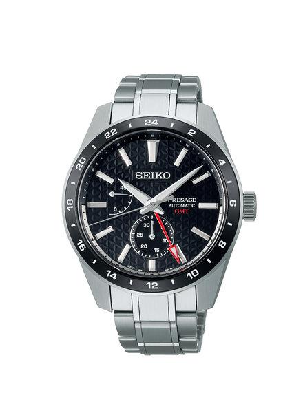 Seiko Seiko Presage horloge automaat GMT SPB221J1