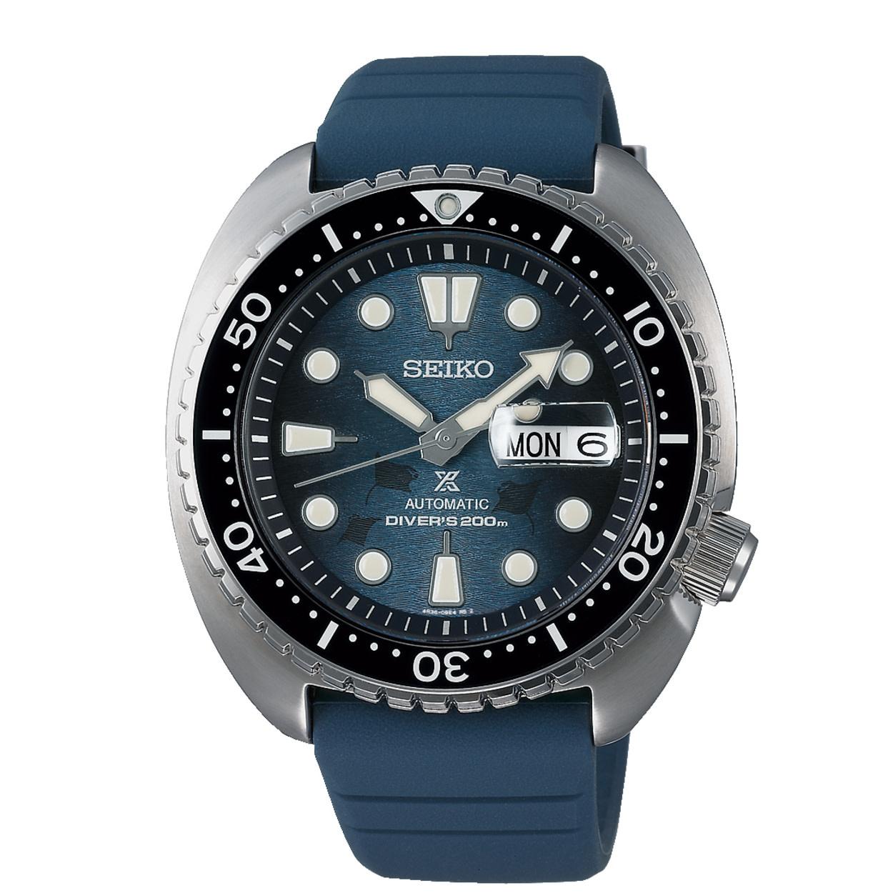 Seiko Seiko Horloge Prospex Save the ocean special edition SRPF77K1