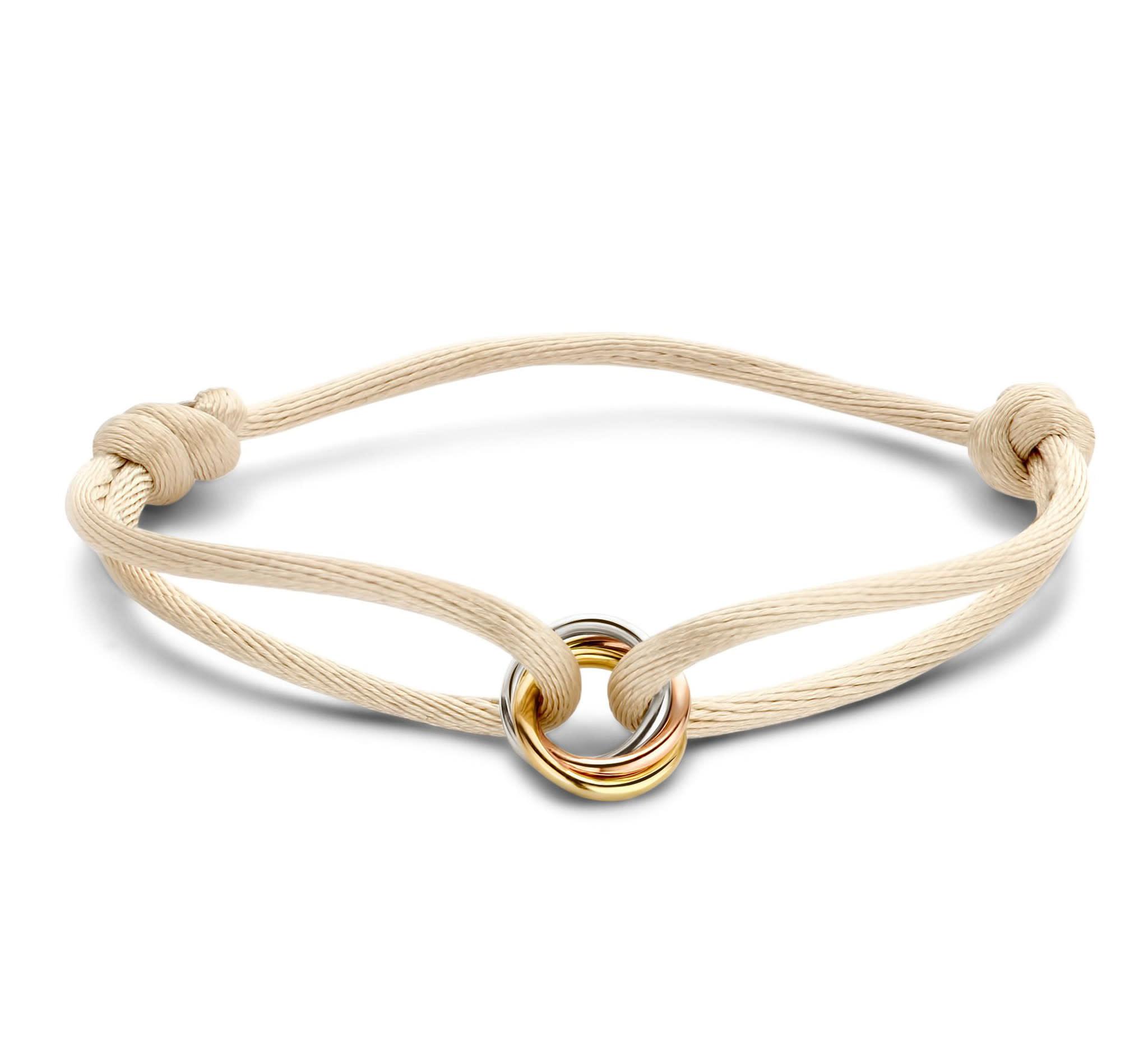 Just Franky Just Franky armband 3 kleuren goud