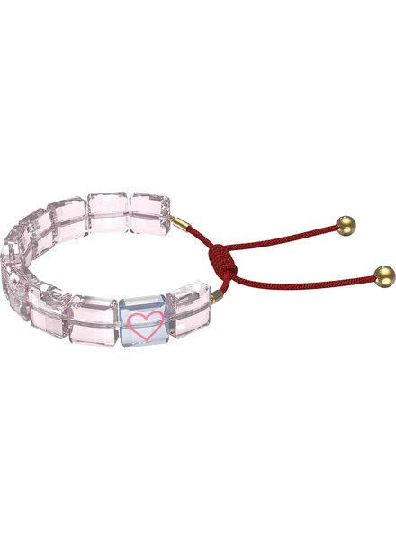 Swarovski Swarovski armband Letra Roze 5615001