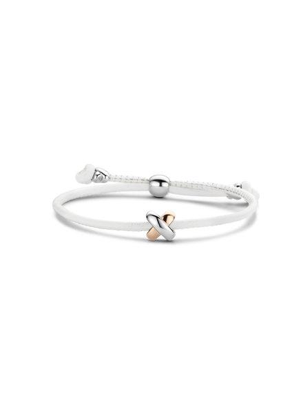 Tirisi Moda Tirisi Moda armband Kisses TM2130WH(2P)