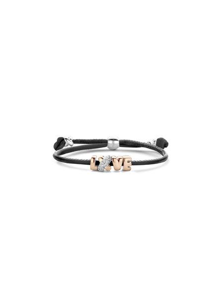 Tirisi Moda Tirisi Moda Armband Love TM2214BL(2P)