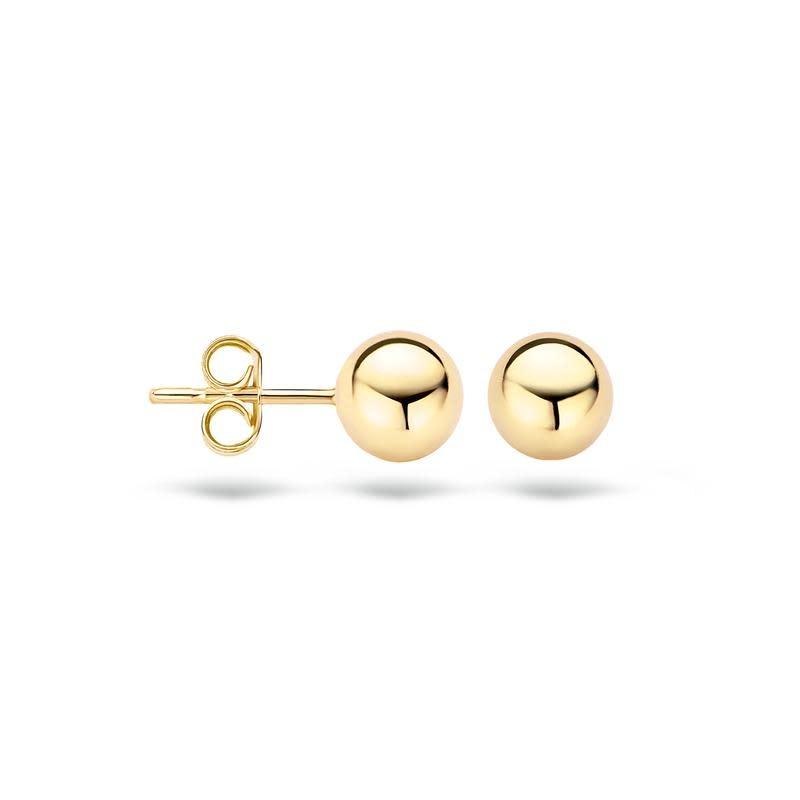 Blush Blush oorstekers goud 7123YGO
