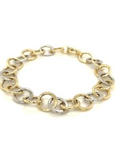 ROEMER Roemer gouden armband Circles 19cm.