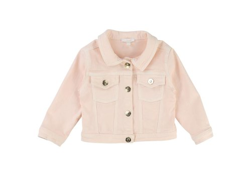 Chloe Chloe Denim Jacket Light Pink Buttons