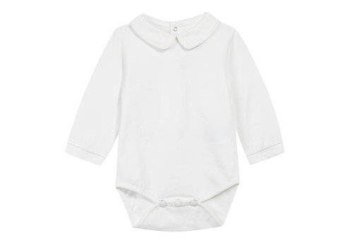 Tartine Et Chocolat Tartine & Chocolat Bodysuit Long Sleeves Off-white Solid