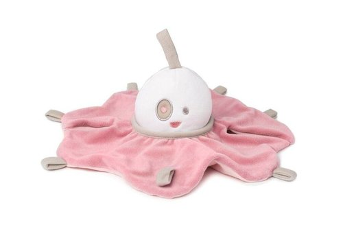 Doomoo Doomoo Cuddly Toy With Night Light Spooky Pink