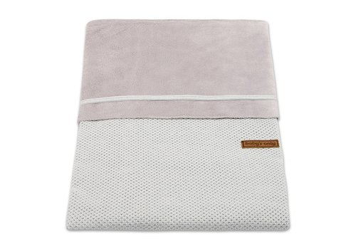 Baby's Only Baby's Only Duvet Cover Small 80 x 80 Classic Silver Gray