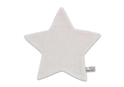 Baby's Only Baby's Only Cuddle Cloth Star Classic Silver Gray