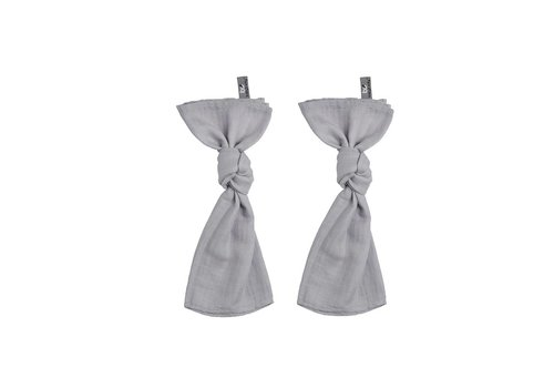 Baby's Only Baby's Only Swaddle 60 x 70 Silver Gray 2-Pack