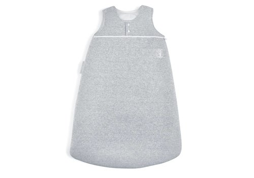 Theophile & Patachou Theophile & Patachou Sleeping Bag 2 Buttons Knitted 70 cm Grey Pearl