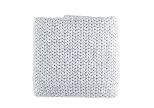 Theophile & Patachou Theophile & Patachou Baptism Blanket Knitted Fabric Grey Pearl